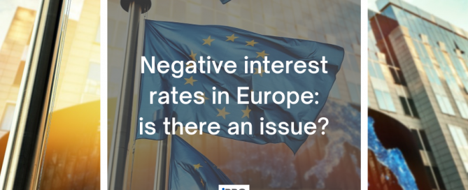 Negative interest rates in Europe article cover iPRO blog