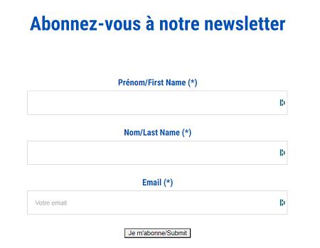 nouveau site internet iPRO newsletter